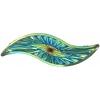 Celestial Sew-on Stone 10pcs Silouhette 14x48mm Green Aurora Borealis